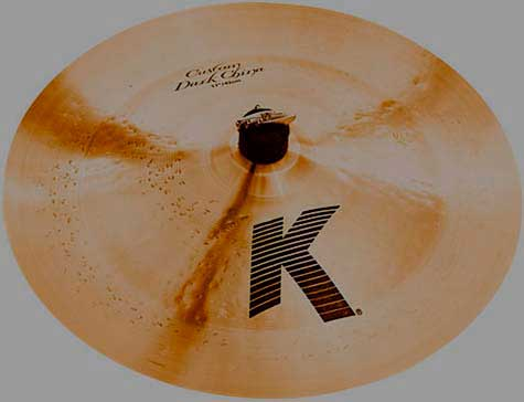 """Прокат Zildjian 17"""" K Custom Dark"""